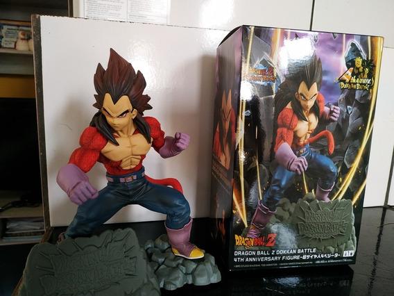 Vegeta Ssj 4 Dragon Ball Gt, Figure Action Ou Figura Em Ação