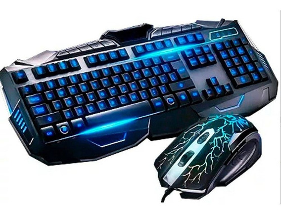Kit Teclado + Mouse Gamer - Barato
