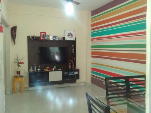 Apartamento Com 2 Dorms, Centro, São Vicente - R$ 220.000,00, 50m² - Codigo: 733 - V733