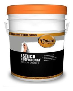 Estuco Profesional Interior Blanco 117060 Caneca 5 Galones P