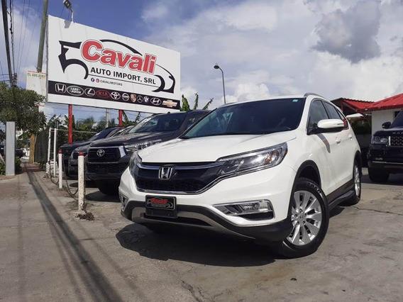 Honda Crv Awd Touring Blanca 2015