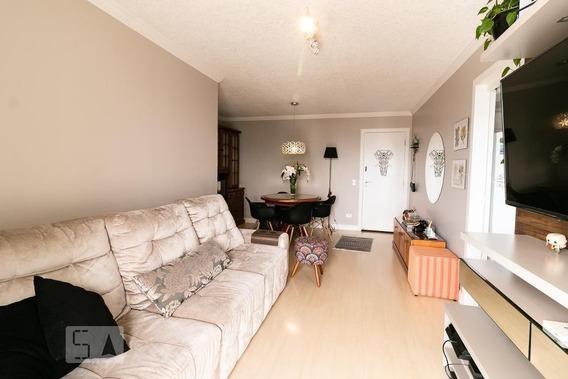 Apartamento No 21º Andar Mobiliado Com 2 Dormitórios E 2 Garagens - Id: 892973793 - 273793