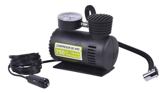 Mini Compressor De Ar Automotivo Portátil 250 Psi - Klatter