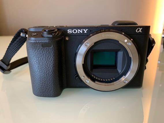 Sony Alpha A6300 Ilce-6300 So Corpo 1300 Click Peça Desconto