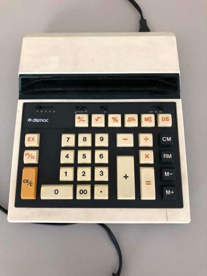 Calculadora Dismac 12 M Anos 70 80