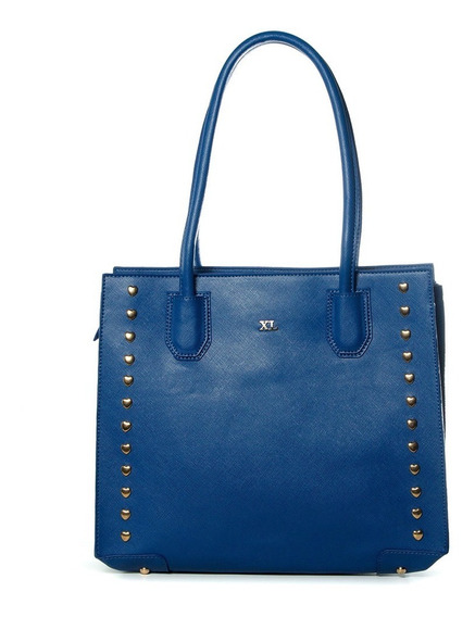 Tote Mujer Xl Extra Large Bebu Azul