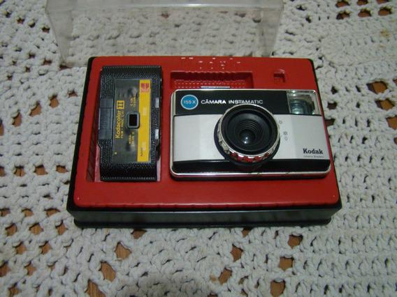 Câmera Fotográfica Kodak Instamatic 155x No Estojo