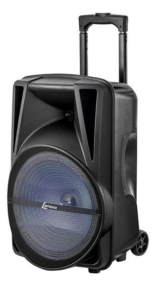 Caixa De Som Amplificadora Lenoxx 290w Ca-340b Preta -bivolt