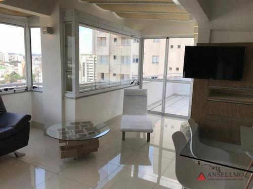 Apartamento À Venda, 181 M² Por R$ 1.699.000,00 - Centro - Santo André/sp - Ap1363