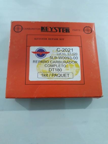 Reparo Carburador Dt180 Completo Keyster