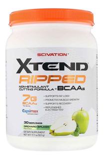 Aminoacidos Scivation Xtend Bcaa Ripped 30 Servicios