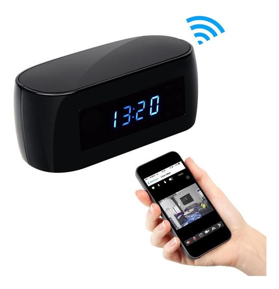Promo Cámara Espia Seguridad Reloj Wifi Hd + Tarjeta Sd 64