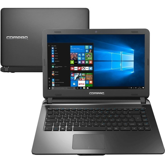 Notebook Compaq Dual Core 4gb 500gb Tela 14