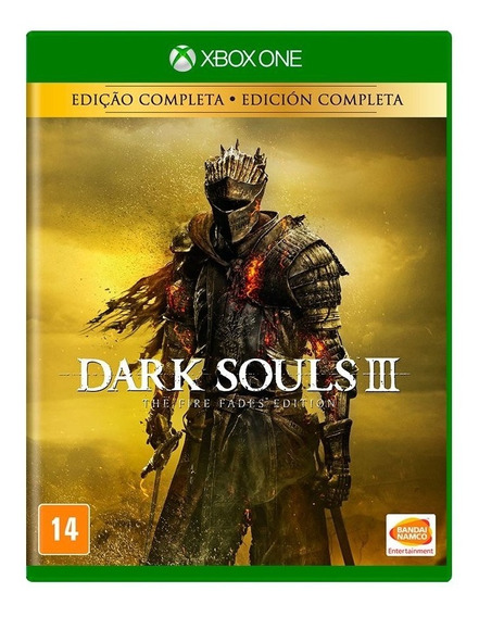 Dark Souls 3 The Fire Fades Edição Completa Xbox One Física