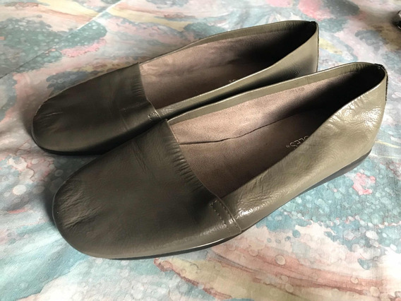 Zapatos Flats Aerosoles Gris