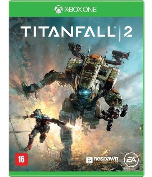 Jogo Titanfall 2 Xbox One Midia Fisica Novo Nacional Barato