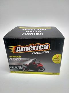 Motobateria America Ctx7a-bs