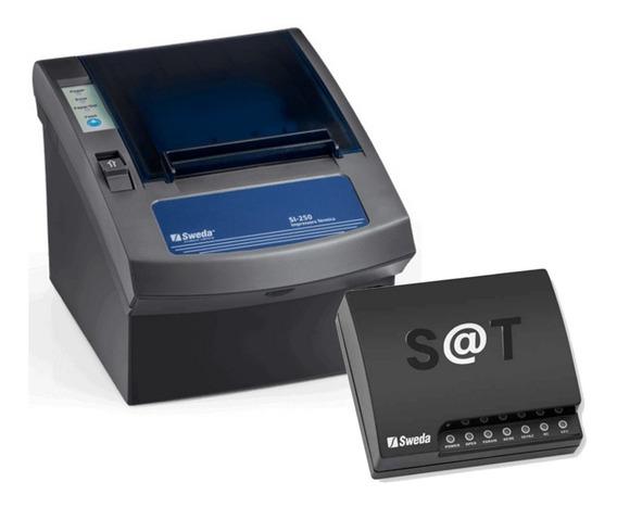 Kit Sweda Sat Fiscal Ss2000 + Impressora Si-250 Usb/serial
