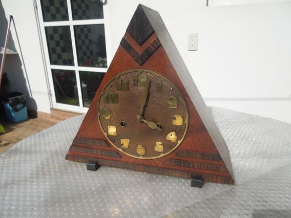 Reloj Art Deco Escuela Holandesa Amsterdam School Masón