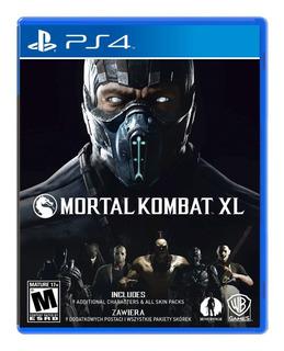 Mortal Kombat Xl Ps4 Nuevo Y Sellado