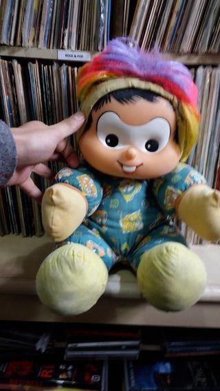 Boneco Pelúcia Chico Bento Curupira / Multibrink / Anos 90