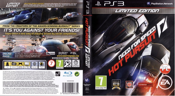 Need Ford Speed Hot Pursuit Ps3