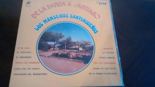 Vinilo Lp De Los Manseros Santiagueños  De La (u1311