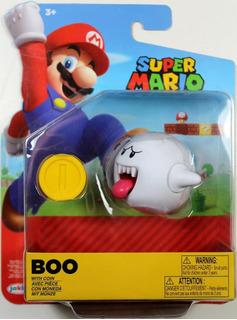 Nintendo Boo With Coin 6 Cm