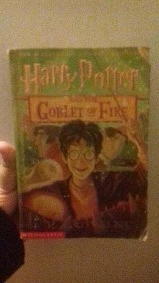 Livro Harry Potter Em Ingles