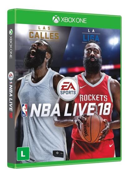 Nba Live 18 Xbox One Mídia Física - 12 X Sem Juros - Lacrado