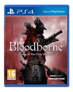 Bloodborne Game Of The Year Edition Ps4 Nuevo Sellado