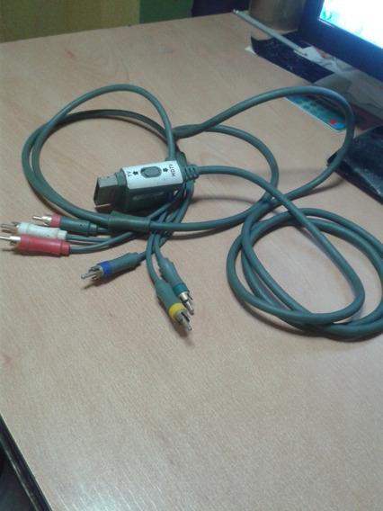 Cable Componente Xbox 360 Tv Hdtv Rca Audio Video 1080p