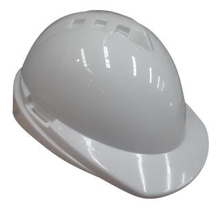 Casco Libus Modelo Milenium Con Arnes Simples Blanco