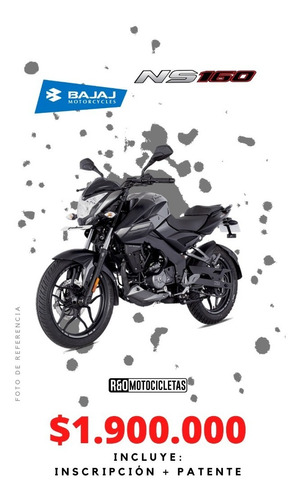 Motocicleta Pulsar Ns 160