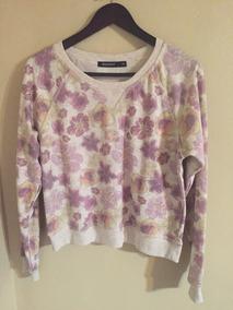 Suéter Beige Flores