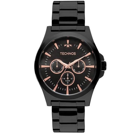 Relógio Technos Masculino 6p29ajl/4p, C/ Garantia E Nf