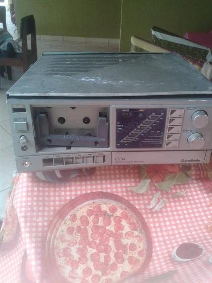 Stereo Cassete Receiver - Cs-34 - Pecas