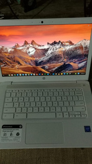 Notebook Hp Chromebook Full Hd 14 4gb Ddr4 Ssd 32gb