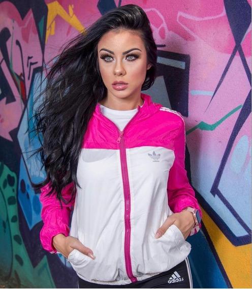 Corta Vento Jaqueta Blusa Casaco Feminina Sem Forro Frete Grátis Pronto Envio Moda Instagram