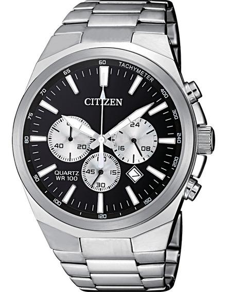 Reloj Hombre Citizen An8170-59e Cuarzo Acero Cronometro
