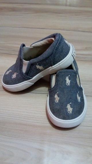Zapatillas Niño Polo Ralph Lauren N°21 Originales