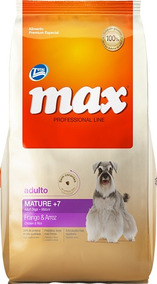 Total Max Perros 7+ Senior Mature Pollo Arroz 15kg