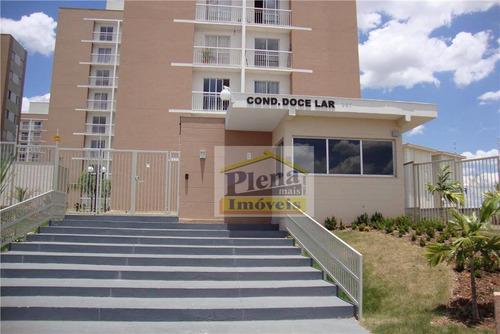 Imagem 1 de 18 de Apartamento  Residencial Para Venda E Locação, Jardim Nova Hortolândia I, Hortolândia. - Ap0288