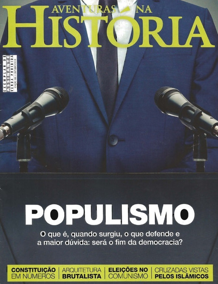 Revista Aventuras Na História - Ed. 185: 10/2018 - Populismo