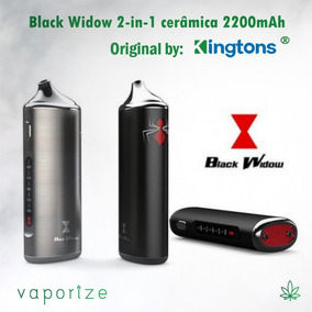 Vaporizador Elite Black Widow ® 2-in-1 | Dry Herb Wax