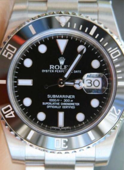 Relógio Submariner Eta Aço 904 L