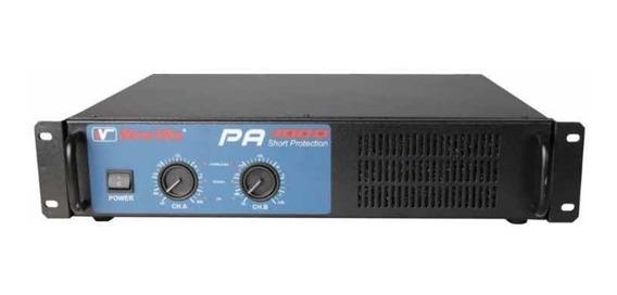 Amplificador Potência New Vox Pa 4000 2000w Rms