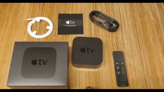 Apple Tv 4° Geracao 64gb Full Hd + Teclado Bluetooth Apple