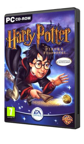 Imagen 1 de 10 de Harry Potter Piedra Filosofal Español Pc Original Fisico Cd
