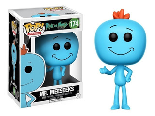Rick And Morty / Funko Pop / Mr. Meeseeks 174 / Funko Pop